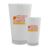 Full Color Glass 17oz-2019 NJCAA National Outdoor Track and Field Champions