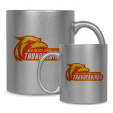 Full Color Silver Metallic Mug 11oz-Primary Logo
