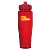 Spectrum Red Sport Bottle 28oz-Primary Logo