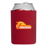 Neoprene Red Can Holder-Primary Logo