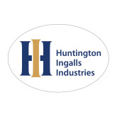 Medium Decal-Huntington Ingalls Industries, 8 inches wide