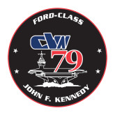 Medium Decal-CVN 79, 8 inches tall
