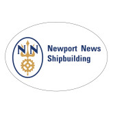 Large Decal-Newport News Shipbuilding, 12 inches wide