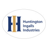 Large Decal-Huntington Ingalls Industries, 12 inches wide