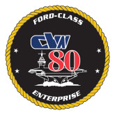 Large Decal-CVN 80, 12 inches tall