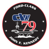 Large Decal-CVN 79, 12 inches tall