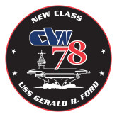 Large Decal-CVN 78, 12 inches tall