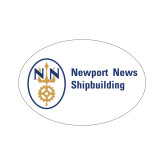 Extra Small Decal-Newport News Shipbuilding, 4.5 inches wide