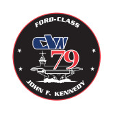 Extra Small Decal-CVN 79, 4.5 inches tall
