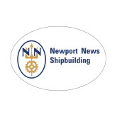 Small Decal-Newport News Shipbuilding, 6 inches wide