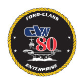 Small Decal-CVN 80, 6 inches tall