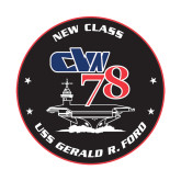 Small Decal-CVN 78, 6 inches tall