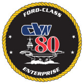 Extra Large Decal-CVN 80, 18 inches tall