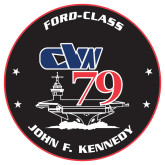 Extra Large Decal-CVN 79, 18 inches tall