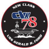 Extra Large Decal-CVN 78, 18 inches tall