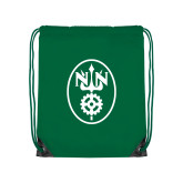 Kelly Green Drawstring Backpack-Icon