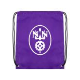 Purple Drawstring Backpack-Icon