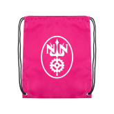 Pink Drawstring Backpack-Icon