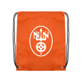 Orange Drawstring Backpack-Icon