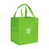 Non Woven Lime Green Grocery Tote-Icon
