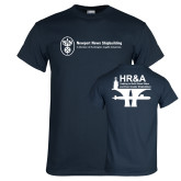Navy T Shirt-HR and A