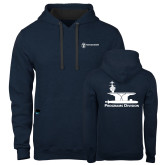 Contemporary Sofspun Navy Heather Hoodie-Programs Division