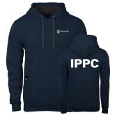 Contemporary Sofspun Navy Heather Hoodie-IPPC