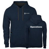 Contemporary Sofspun Navy Heather Hoodie-Operations