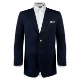 Classic Navy Blazer Long-Huntington Ingalls Industries