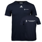 Adidas Climalite Navy Ultimate Performance Tee-Business Management