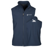 Core Navy Softshell Vest-Programs Division