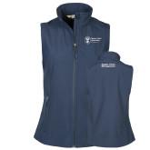 Ladies Core Navy Softshell Vest-Strategic Sourcing