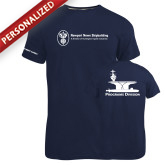 Russell Navy Essential T Shirt-Programs Division