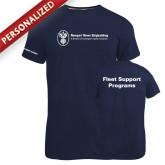 Russell Navy Essential T Shirt-Fleet Support Programs