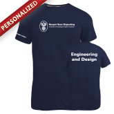 Russell Navy Essential T Shirt-Engineering and Design