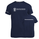 Russell Navy Essential T Shirt-Comms