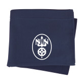 Navy Sweatshirt Blanket-Icon