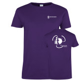 Ladies Purple T Shirt-NNS IT