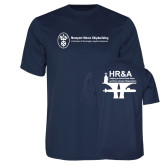 Performance Navy Tee-HR and A