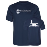 Performance Navy Tee-Programs Division