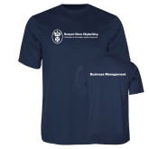 Performance Navy Tee-Business Management