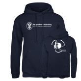 Russell DriPower Navy Fleece Hoodie-NNS IT