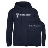 Russell DriPower Navy Fleece Hoodie-Nuclear Propulsion