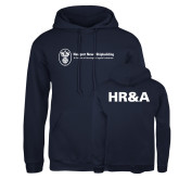 Russell DriPower Navy Fleece Hoodie-HR and A