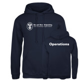 Russell DriPower Navy Fleece Hoodie-Operations