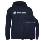 Russell DriPower Navy Fleece Hoodie-Contracts and Pricing