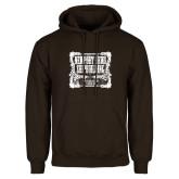 Brown Fleece Hoodie-NNS Vintage