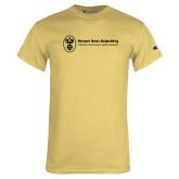 Champion Vegas Gold T Shirt-Newport News Shipbuilding