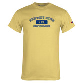 Champion Vegas Gold T Shirt-NNS College Design