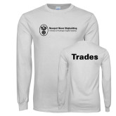 White Long Sleeve T Shirt-Trades